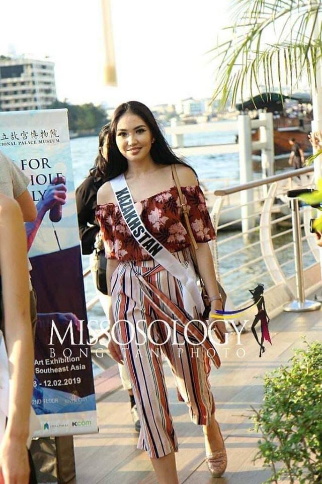 Mỹ nhân hoa hậu hoàn vũ 2018 hội tụ tại Thái Lan - 7