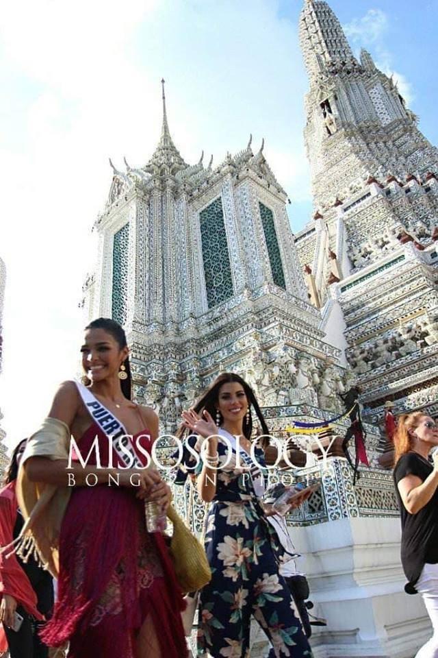 Mỹ nhân hoa hậu hoàn vũ 2018 hội tụ tại Thái Lan - 3