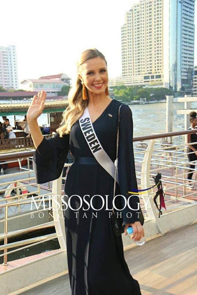 Mỹ nhân hoa hậu hoàn vũ 2018 hội tụ tại Thái Lan - 33