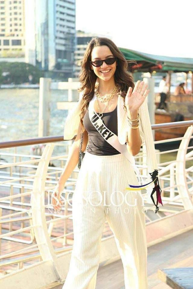 Mỹ nhân hoa hậu hoàn vũ 2018 hội tụ tại Thái Lan - 31