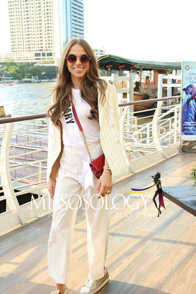 Mỹ nhân hoa hậu hoàn vũ 2018 hội tụ tại Thái Lan - 30