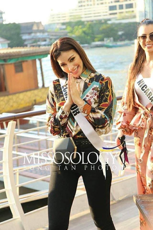 Mỹ nhân hoa hậu hoàn vũ 2018 hội tụ tại Thái Lan - 23