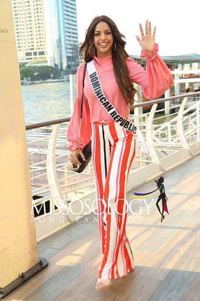 Mỹ nhân hoa hậu hoàn vũ 2018 hội tụ tại Thái Lan - 22