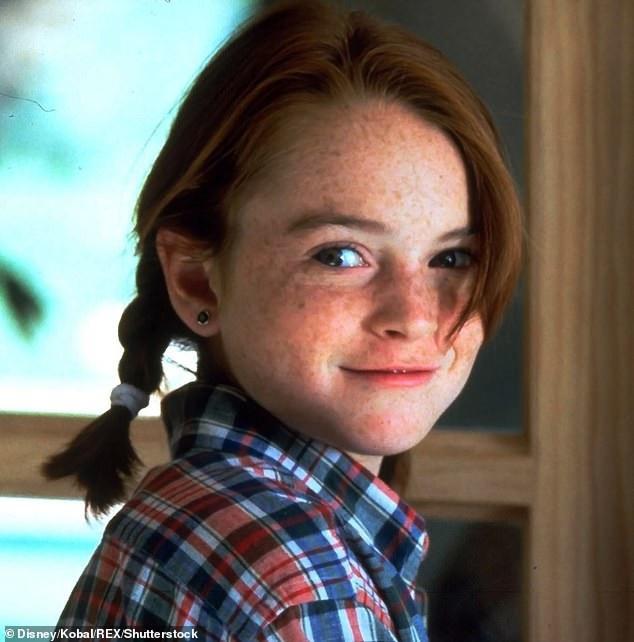 Lindsay Lohan thuở bé