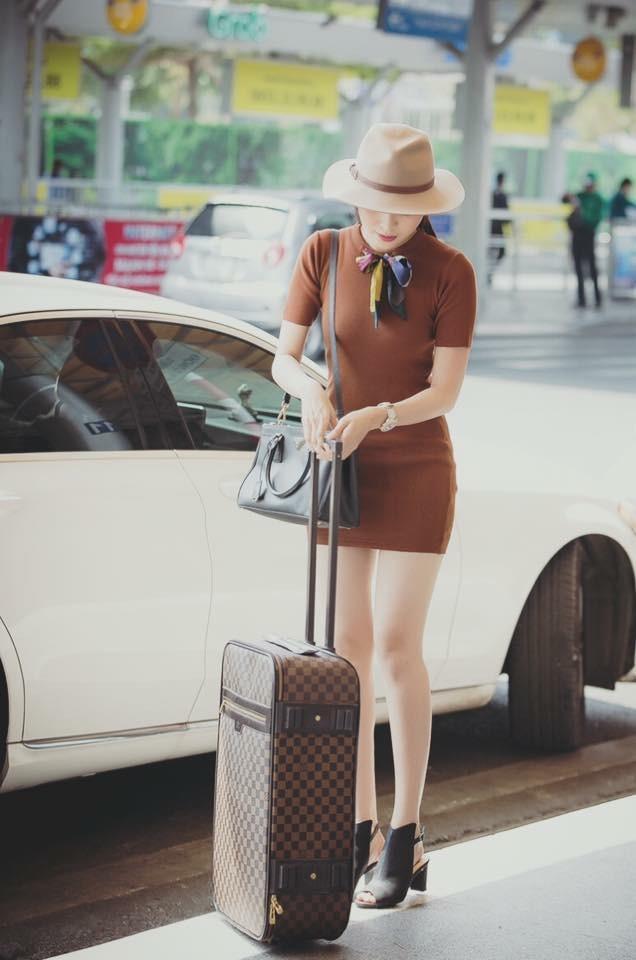 Vali, túi xách đắt tiền.