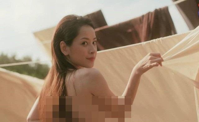 Cảnh hở hang táo bạo trong MV của Chi Pu.