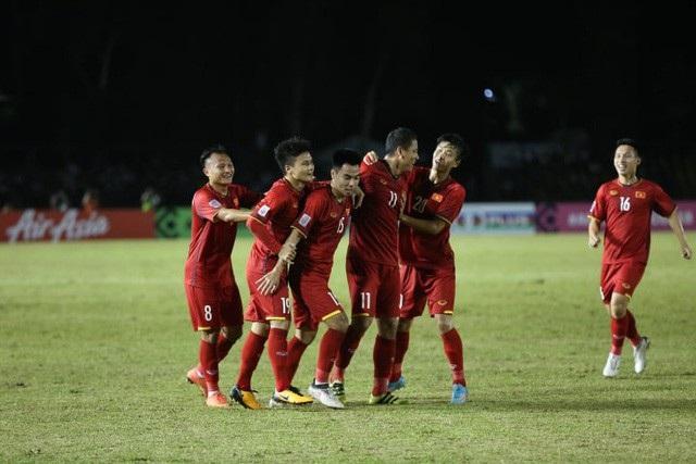 Đội tuyển Việt Nam thừa nhiệt huyết nhưng vẫn giữ được sự tỉnh táo