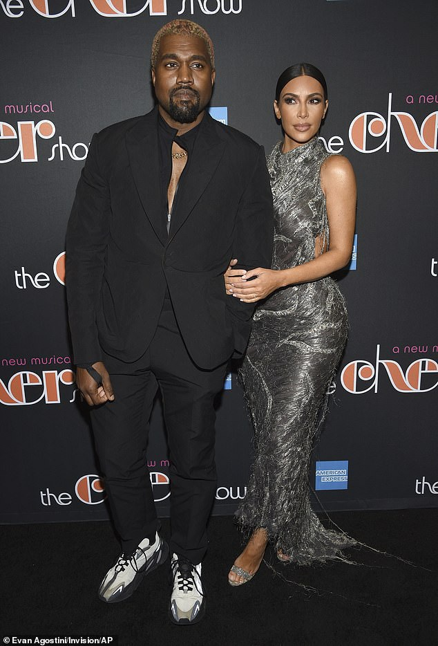 Đây là sự kiện hiếm hoi mà Kim Kardashian cùng chồng Kanye West góp mặt