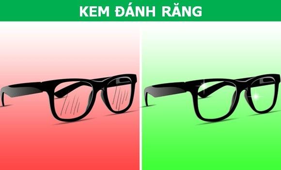 Chữa lành mắt kính bị xước với những công thức cực kỳ đơn giản - 4