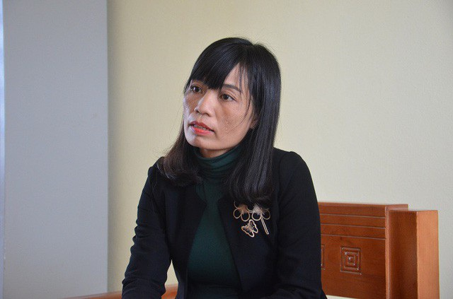 Bà Phạm Thị Lệ Anh, Hiệu trưởng Trường THCS Duy Ninh (huyện Quảng Ninh, Quảng Bình).