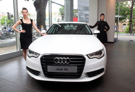 Audi A6 phiên bản 2011 được phân phối chính thức tại Việt Nam.