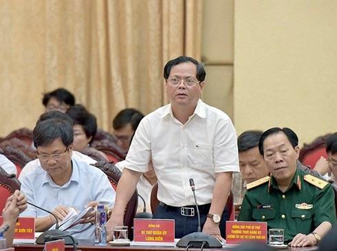 Ông Đỗ Mạnh Hải - Bí thư quận Long Biên nhiều lần nói về bộ máy hành chính cồng kềnh hiện nay