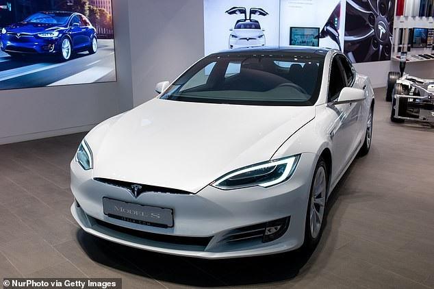 Mẫu Model S của hãng xe chạy điện Tesla