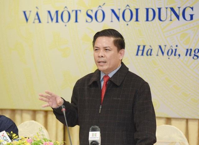 Bộ trưởng GTVT Nguyễn Văn Thể