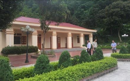 Nhà văn hóa xóm Tràng được hỗ trợ xây dựng cho bà con sinh hoạt trong khuôn viên tư gia họ Thái tại huyện Định Hóa.