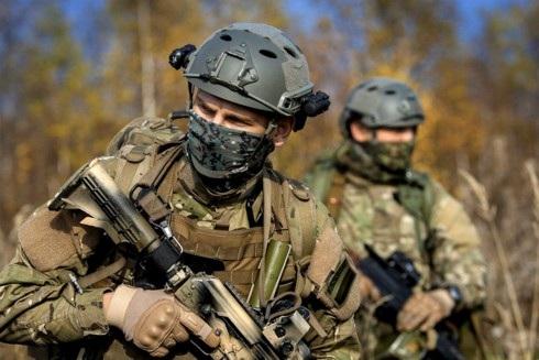 Lính đặc nhiệm Nga tại Dagestan. Ảnh: Special Operation.