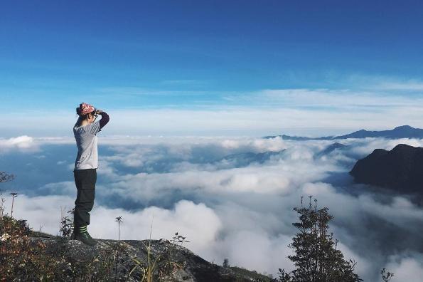 Thời điểm từ tháng 12 đến tháng 3 hằng năm thích hợp để săn mây Tà Xùa. Ảnh: I.T