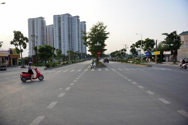 Tuyến phố được Hà Nội đặt tên nhà tư sản Trịnh Văn Bô. (Ảnh: Toàn Vũ)