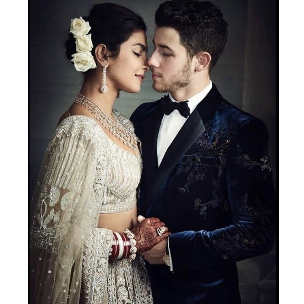 Priyanka Chopra sau đó đã hết lời cảm ơn Thủ tướng vì tới chúc phúc cho vợ chồng cô