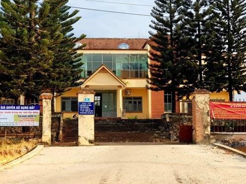 Trung tâm phát triển quỹ đất huyện Krông Nô nơi xảy ra sự việc
