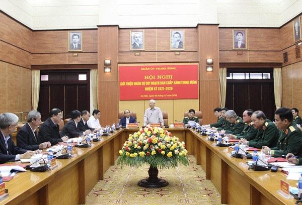 Giới thiệu nhân sự Quân đội quy hoạch Ban Chấp hành Trung ương - 1