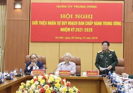 Giới thiệu nhân sự Quân đội quy hoạch Ban Chấp hành Trung ương - 2