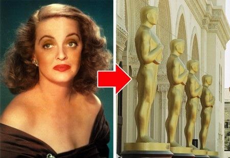 Có một giả thuyết được truyền miệng về cái tên Oscar của hạng mục giải thưởng điện ảnh danh giá nhất thế giới. Từ năm 1939, giải thưởng của Viện hàn lâm đã mang cái tên này nhưng trước đó, những người thắng cuộc chỉ đơn giản là được nhận một tượng vàng không tên. Chỉ đến khi huyền thoại điện ảnh Bette Davis nhận thấy vòng 3 của bức tượng khá giống với chồng mình, Harmon Oscar Nelson, mỗi khi ông này bước ra khỏi nhà tắm và cái tên Oscar đã ra đời từ ấy.