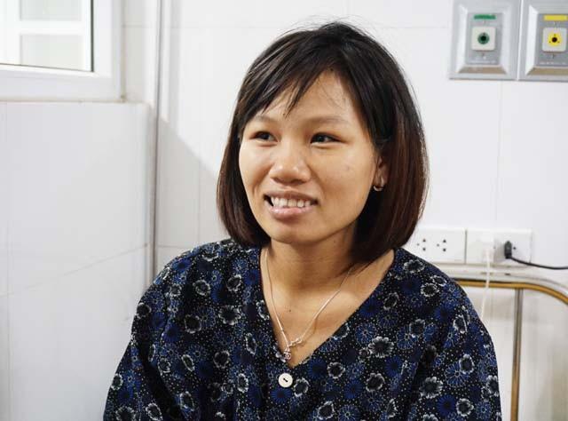 Sản phụ Cao Thị Thảo kể lại trường hợp hi hữu của bản thân khi được chẩn đoán mang song thai nhưng sinh 3.