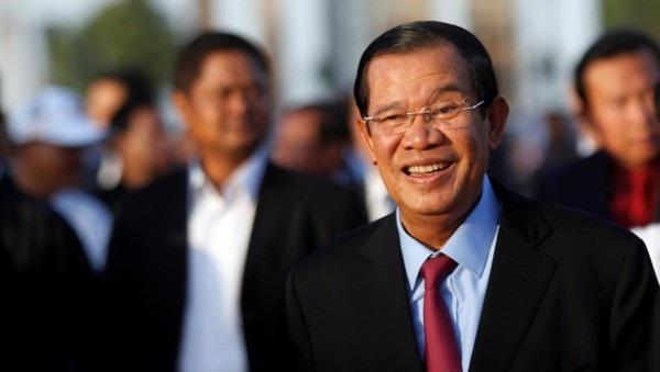 Thủ tướng Vương quốc Campuchia Samdech Akka Moha Sena Padei Techo Hun Sen. Ảnh: Reuters.