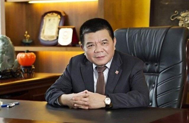 Ông Trần Bắc Hà - nguyên Chủ tịch BIDV bị bắt hôm 29/11 (ảnh: Xuân Duy)