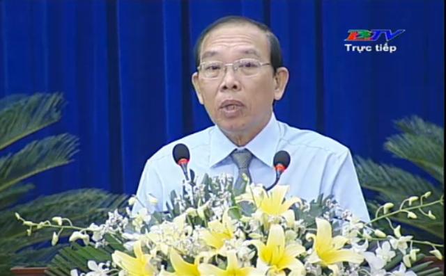 Chánh Thanh tra Hồ Hữu Lượng trả lời: Xin thưa đại biểu là chưa xác định được...