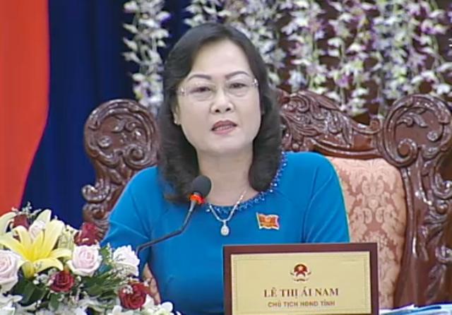 Bà Lê Thị Ái Nam (Chủ tịch HĐND tỉnh Bạc Liêu): Không vì bảo vệ ghế thẩm phán mà người ta đáng tội án treo lại xử án tù.