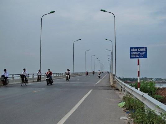 Dự án đầu tư xây dựng cầu Khuể - Hải Phòng (Ảnh: CTV).