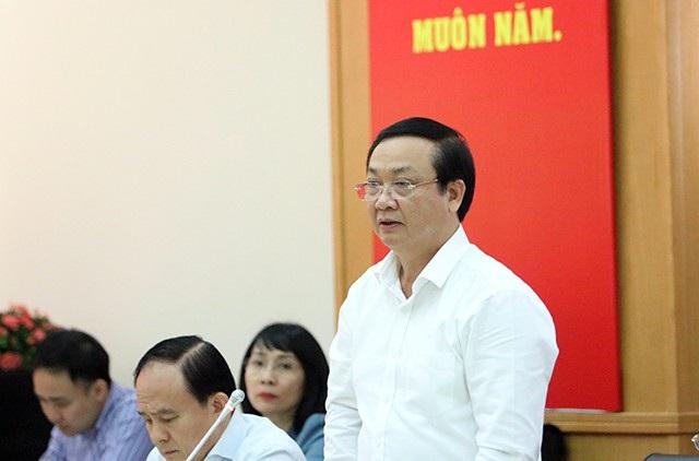 Ông Nguyễn Thế Hùng - Phó Chủ tịch UBND TP Hà Nội