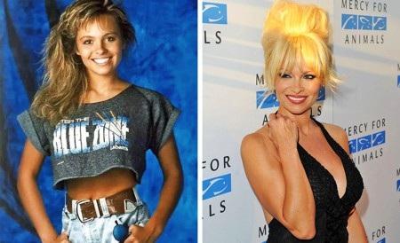 Pamela Anderson từng chỉ là một cô gái trẻ đến từ Vancouver đi làm huấn luyện viên thể hình để trang trải cuộc sống. Sau vài cuộc thi thể thao, gương mặt ăn hình của Anderson đã được máy quay ghi lại và được các công ty người mẫu chú ý.