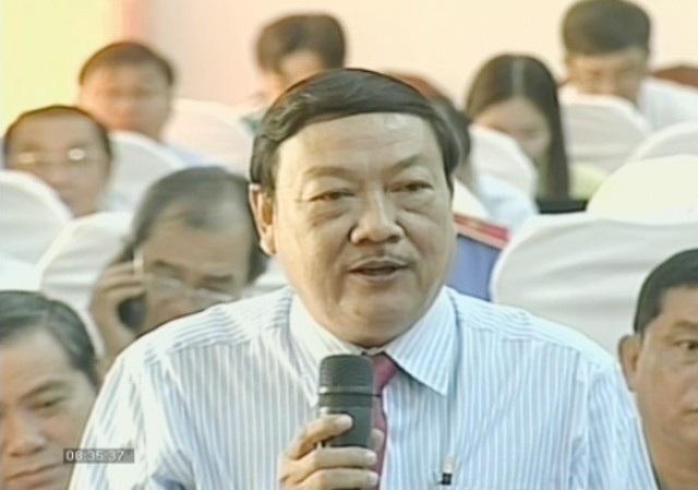 Giám đốc Sở VH-TT&DL Cà Mau Trần Hiếu Hùng: Hát hò gây ồn nhưng mà vui.... (Ảnh: PTTH-CM)
