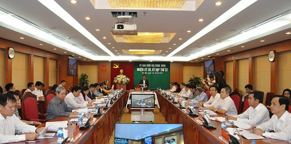 Ủy ban Kiểm tra Trung ương họp kỳ 32