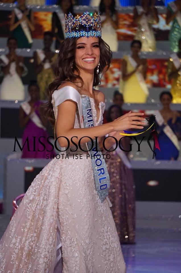 Tiểu Vy dừng chân ở top 30; Người đẹp Mexico đăng quang hoa hậu thế giới - 3