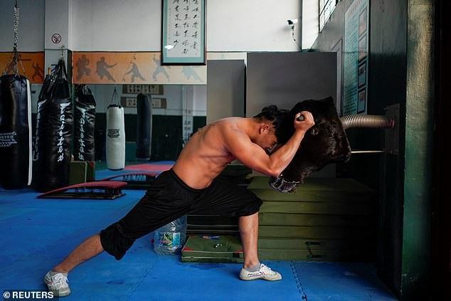 Nơi các võ sỹ luyện tập hàng ngày