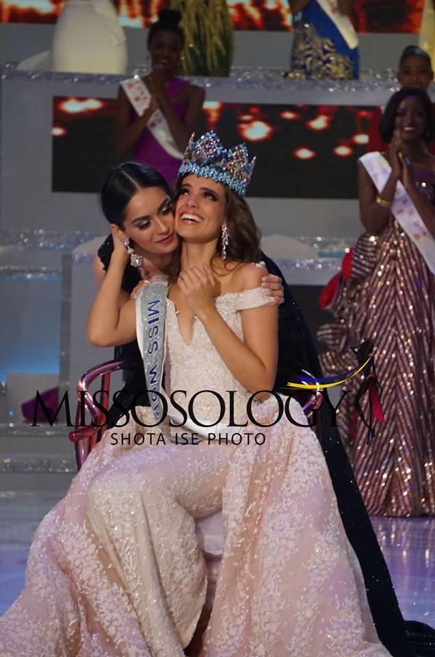 Manushi Chhillar - Hoa hậu thế giới 2017 trao vương miện cho người đẹp Mexico Vanessa Ponce