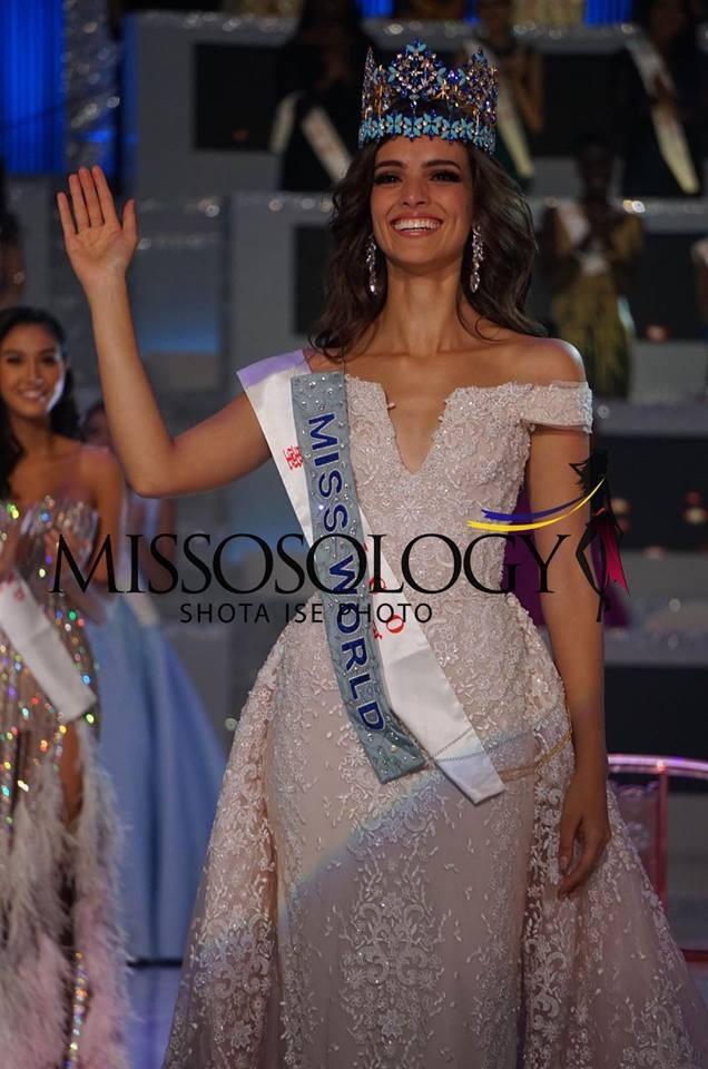 Vanessa Ponce rạng rỡ phút đăng quang