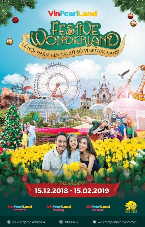 Festive Wonderland – Mùa lễ hội diệu kỳ tại thiên đường Vinpearl Land
