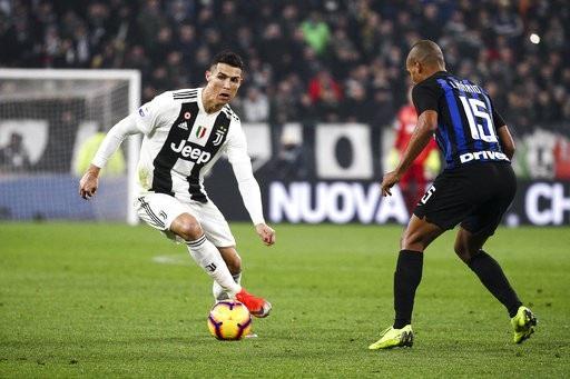 C.Ronaldo không ghi bàn trong trận đấu với Inter