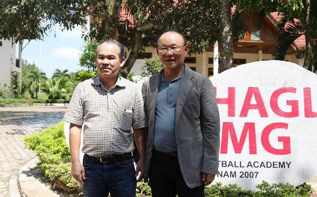 Bầu Đức là người đã mời HLV Park Hang Seo sang Việt Nam