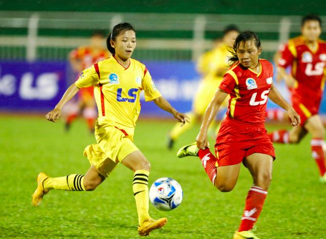 Đội nữ TPHCM toàn thắng tại nội dung bóng đá nữ Đại hội TDTT toàn quốc, giành HCV