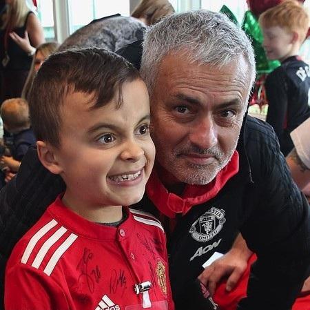 Ông thầy Jose Mourinho cũng tham gia sự kiện này