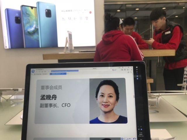Giám đốc tài chính Huawei Sabrina Meng Wanzhou bị bắt hôm 1/12 tại Canada (Ảnh: SCMP)