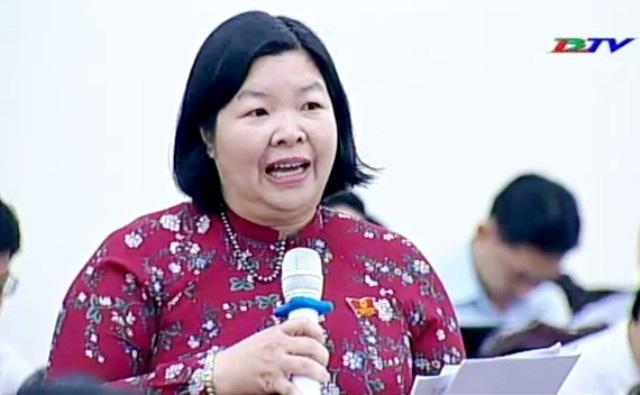 Bà Cao Xuân Thu Vân (Giám đốc Sở Văn hóa - Thể thao và Du lịch):Việc xét xử và tuyên án treo, án tù làm áp lực rất lớn cho thẩm phán.