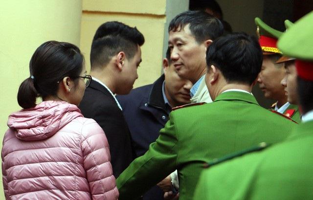 Lời cuối cùng trước tòa, Trịnh Xuân Thanh xin được sang Đức để chăm sóc vợ con.