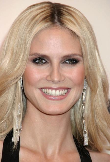 Heidi Klum cũng đã truyền nét xinh đẹp rực rỡ…